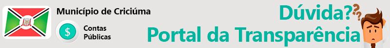 Dúvida Portal da Transparência